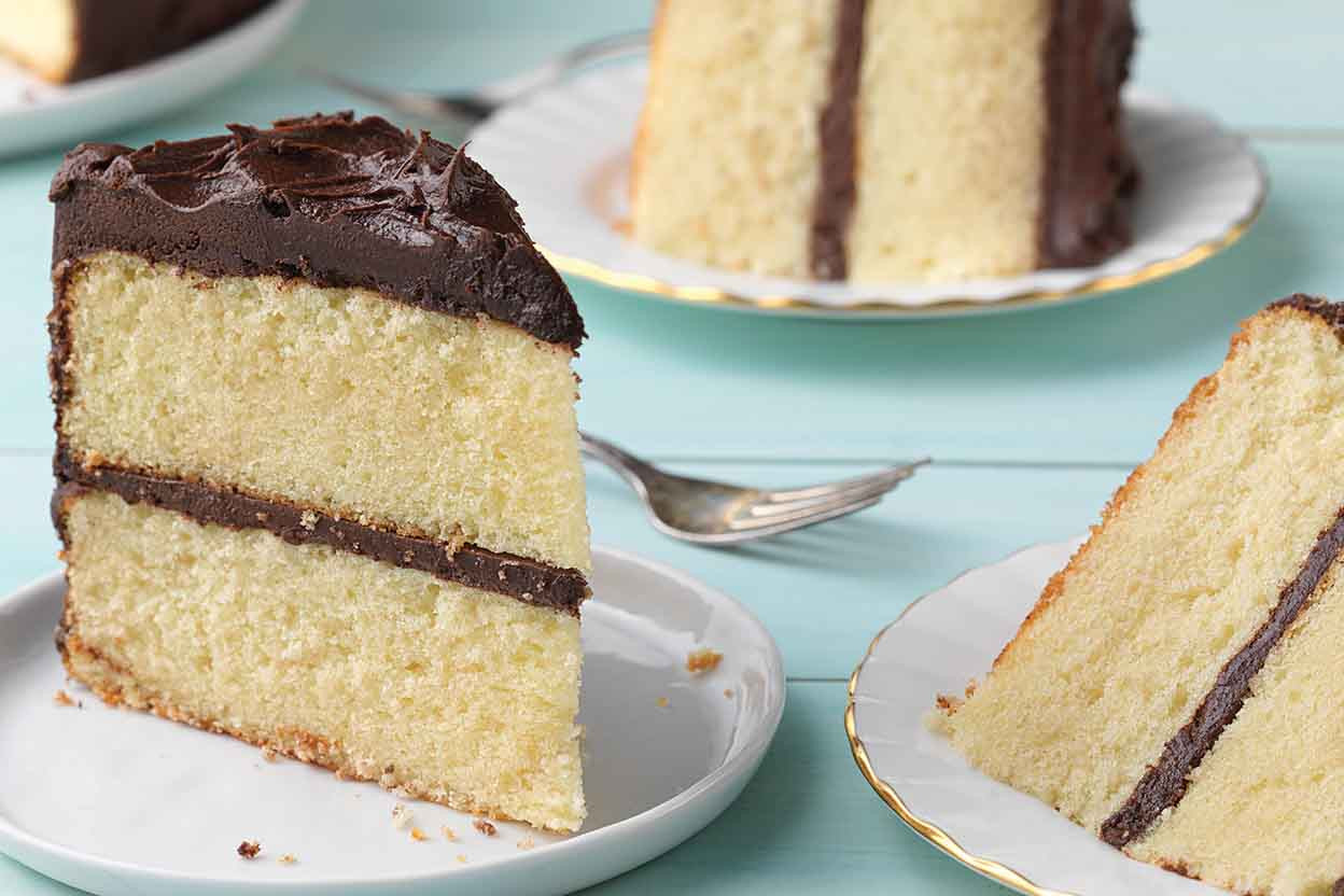 Moist Yellow Cake Recipe  Back to Basics Moist Yellow Cake Recipe