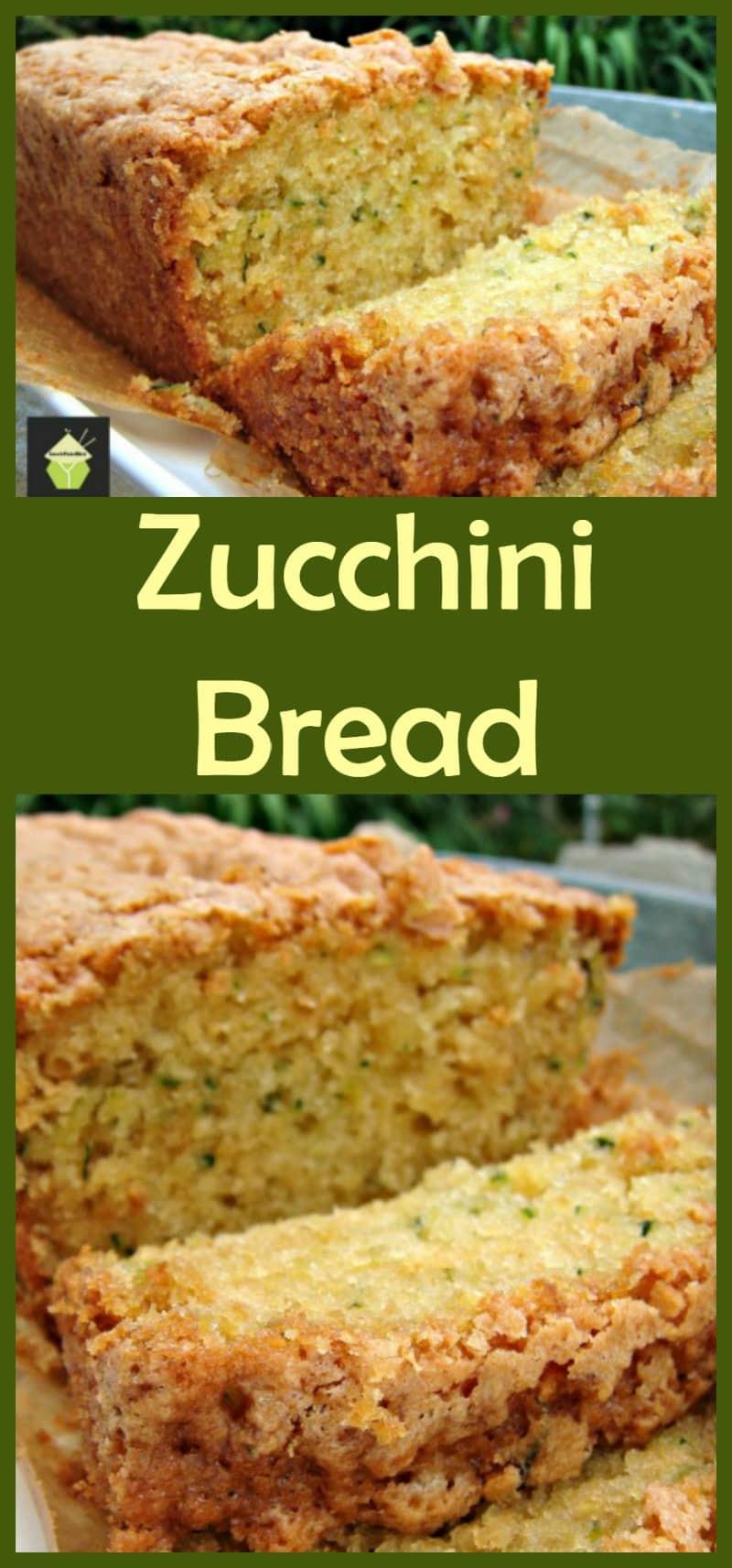 Moist Zucchini Bread  Super Moist Zucchini Bread A wonderful soft loaf cake