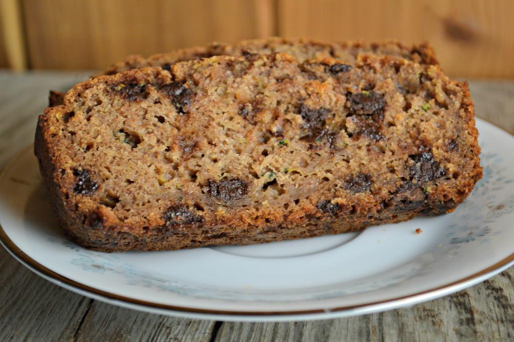 Moist Zucchini Bread  Moist Chocolate Chip Zucchini Bread These Old Cookbooks