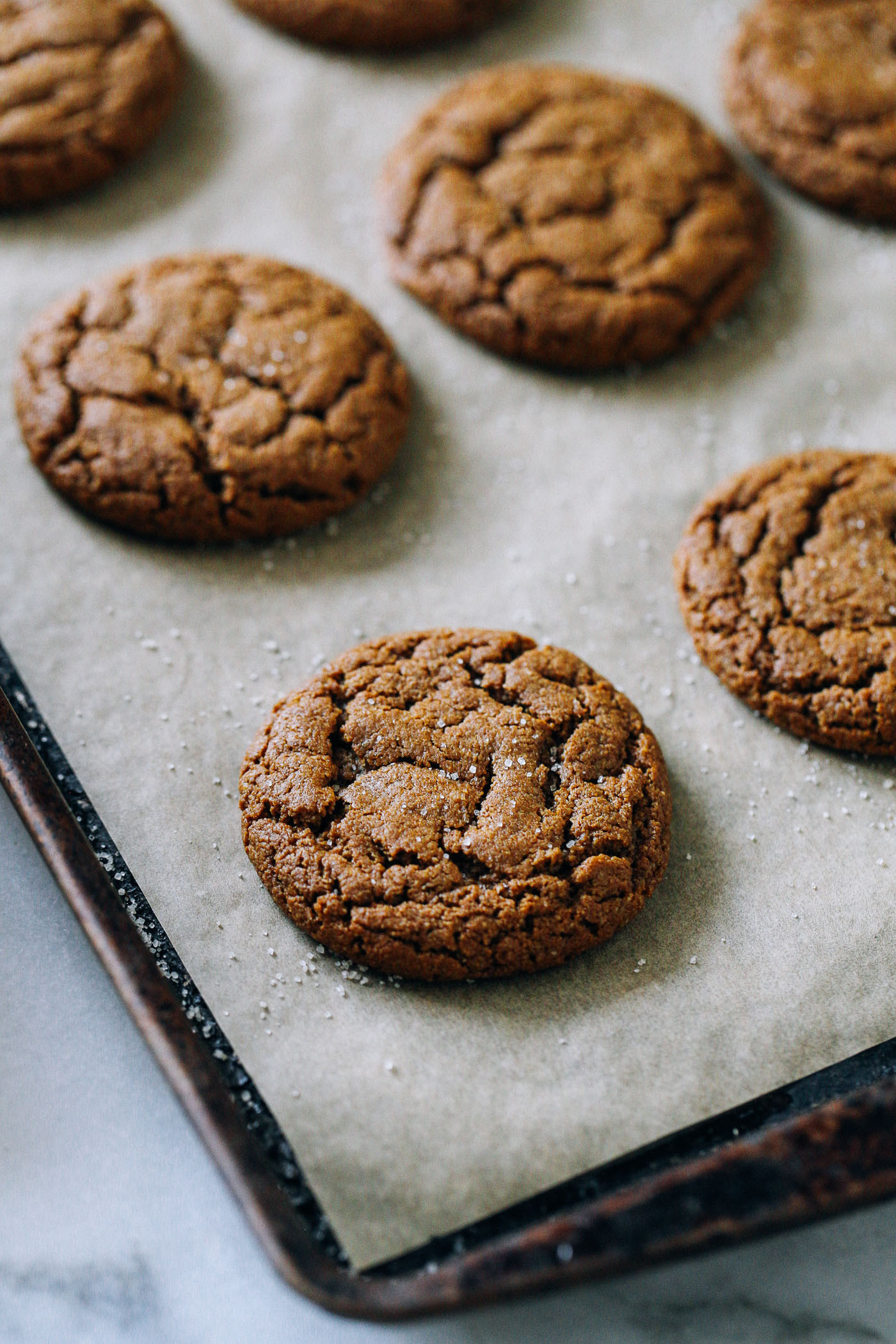 Molasses Ginger Cookies  Chewy Ginger Molasses Cookies Making Thyme for Health