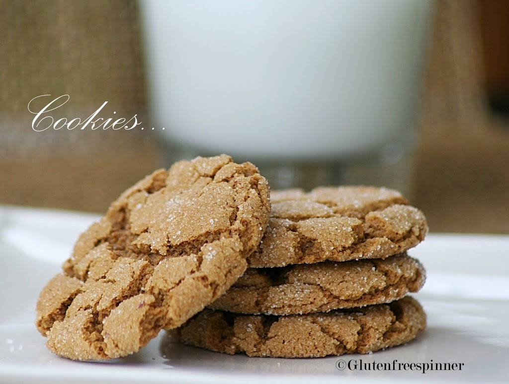 Molasses Ginger Cookies  Molasses Ginger Cookies – Frosted for the Holiday