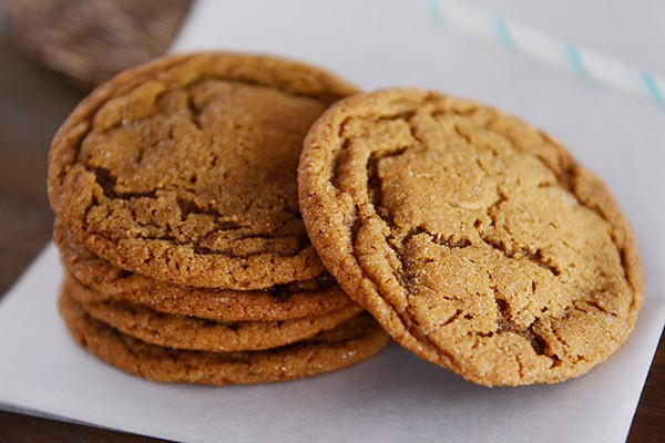 Molasses Ginger Cookies  Soft and Chewy Ginger Molasses Cookies