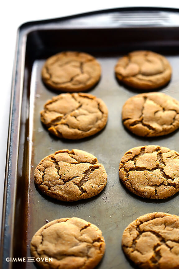 Molasses Ginger Cookies  Chewy Ginger Molasses Cookies
