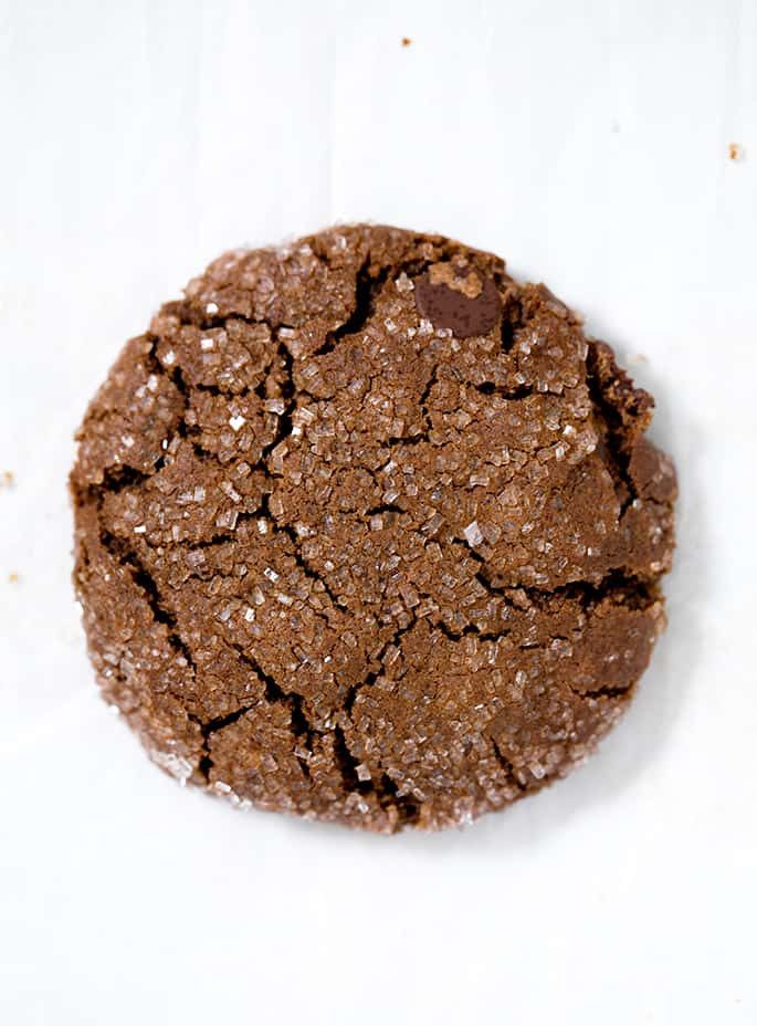 Molasses Ginger Cookies  Chocolate Ginger Molasses Cookies