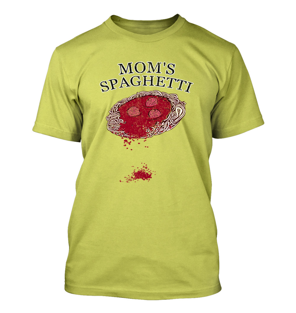 Mom'S Apple Pie  Mom s Spaghetti 337 Men s T Shirt Funny Humor edy