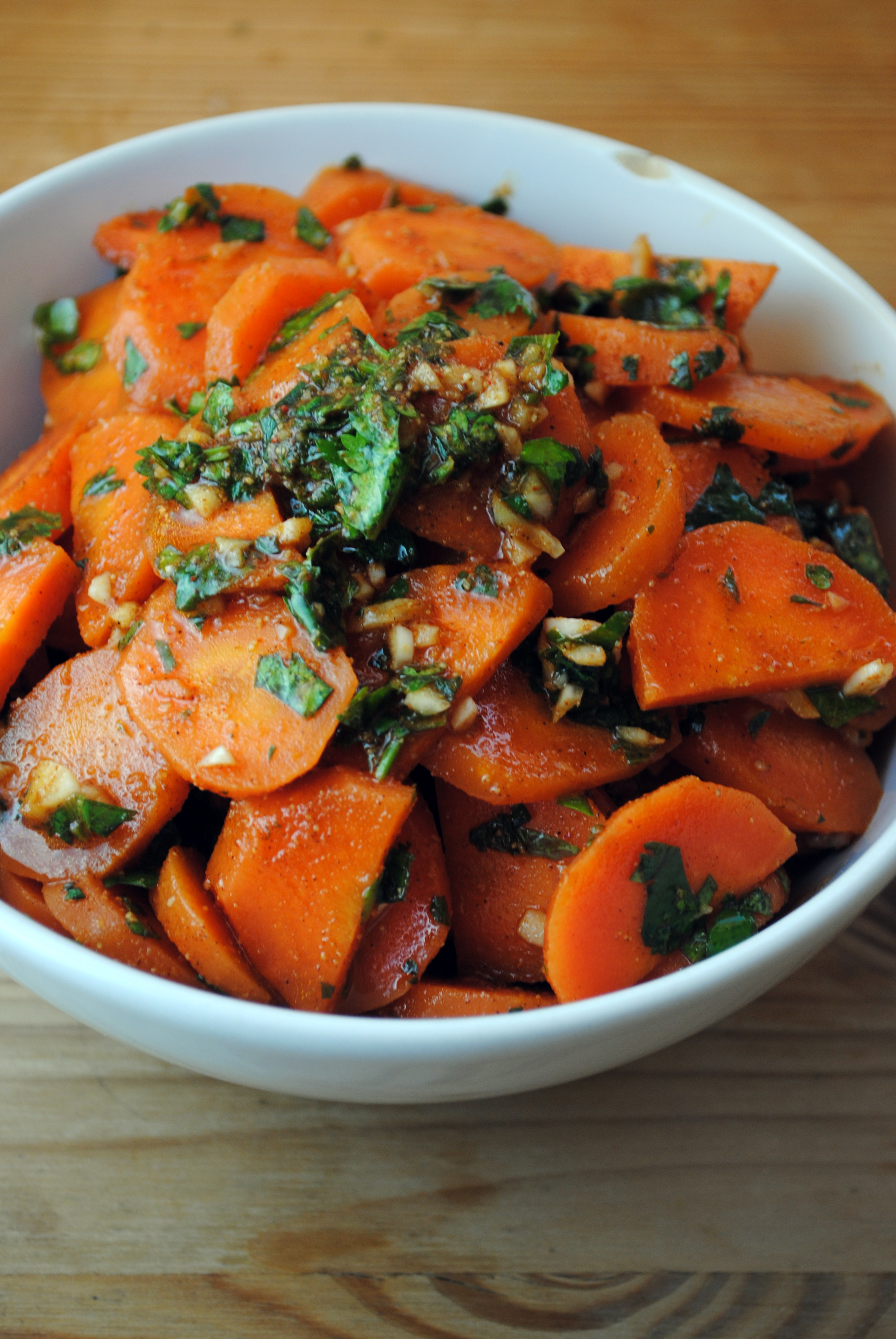 Moroccan Carrot Salad  A Middle Eastern Spread