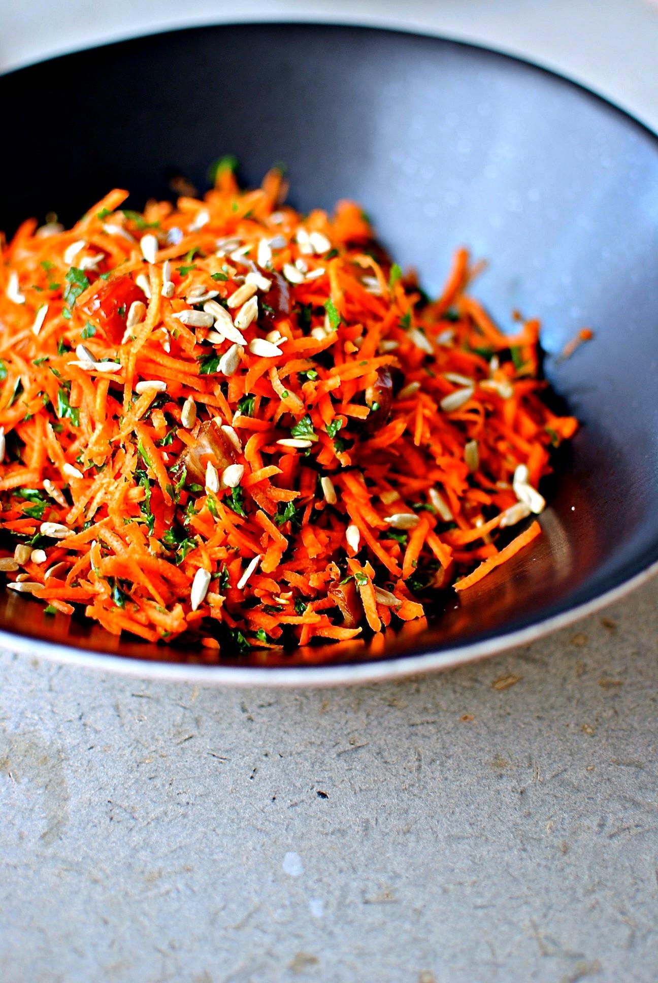 Moroccan Carrot Salad  A Moroccan Carrot Salad – sweet savoury delicious