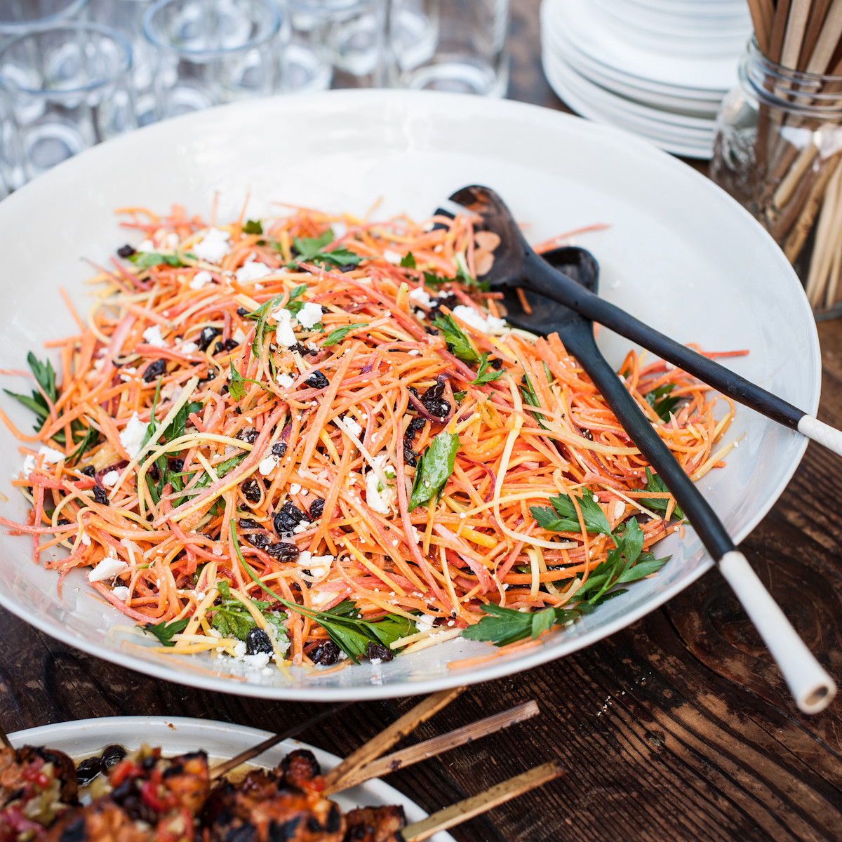 Moroccan Carrot Salad  Moroccan Carrot Salad with Spicy Lemon Dressing Recipe