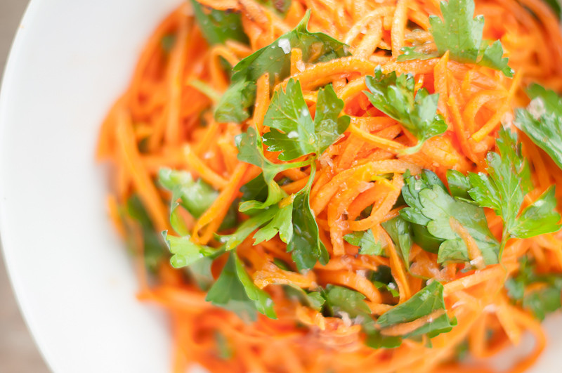 Moroccan Carrot Salad  Hungry Ghost Moroccan Carrot Salad Recipe