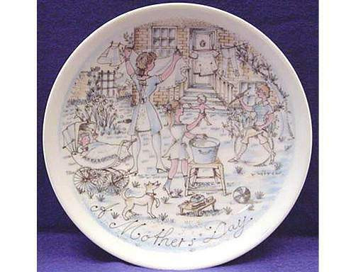 Mother'S Day Dinner  Haviland Limoges 1974 Mother s Day Limited Edition