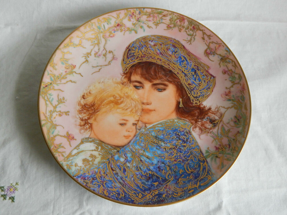 Mother'S Day Dinner  CATHERINE AND HEATHER PLATE EDNA HIBEL MOTHER S DAY PLATE