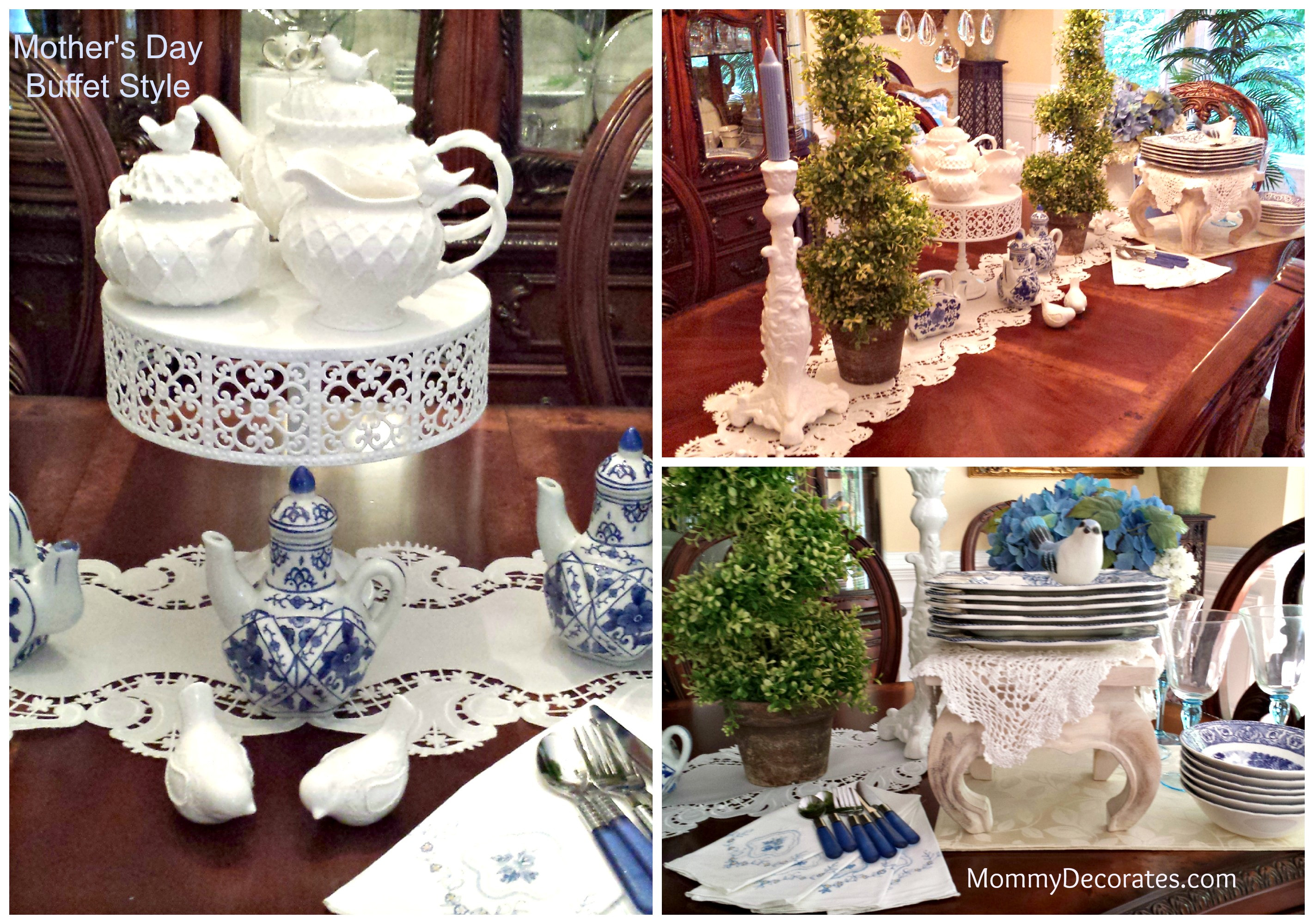Mother'S Day Dinner  Mother 039 s Day Brunch Buffet Style Table Setting Ideas