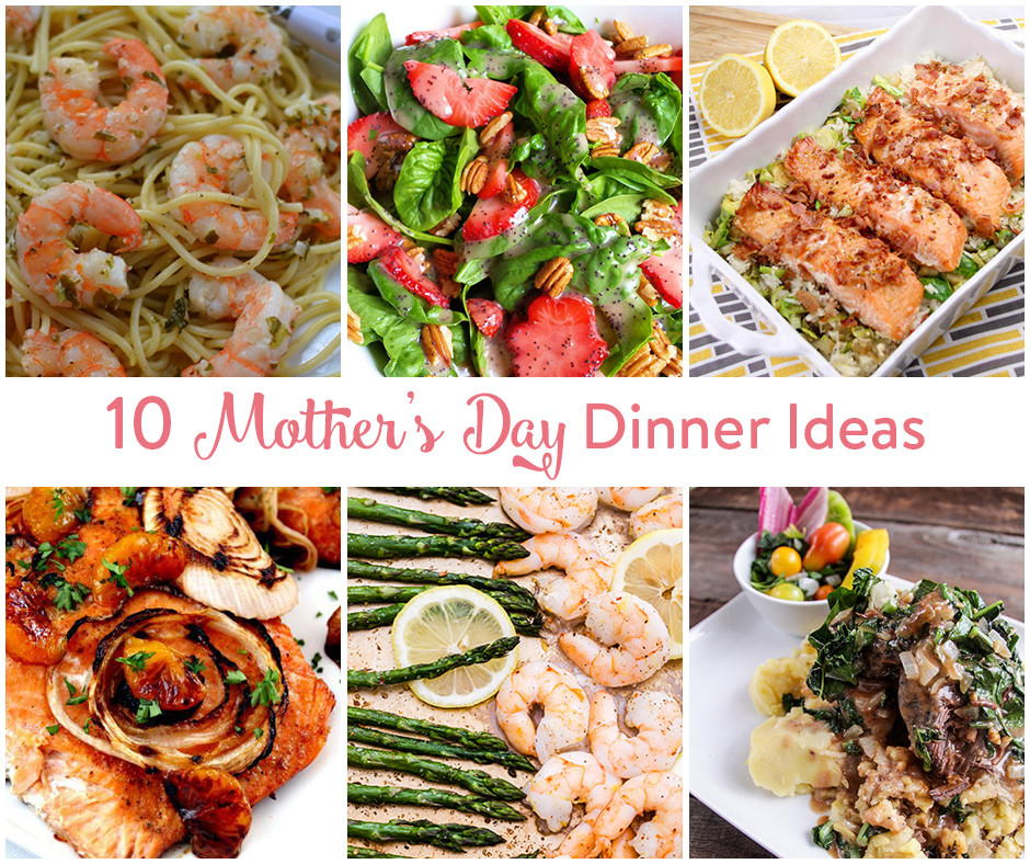Mother'S Day Dinner Ideas  10 Mother s Day Dinner Ideas • The Inspired Home
