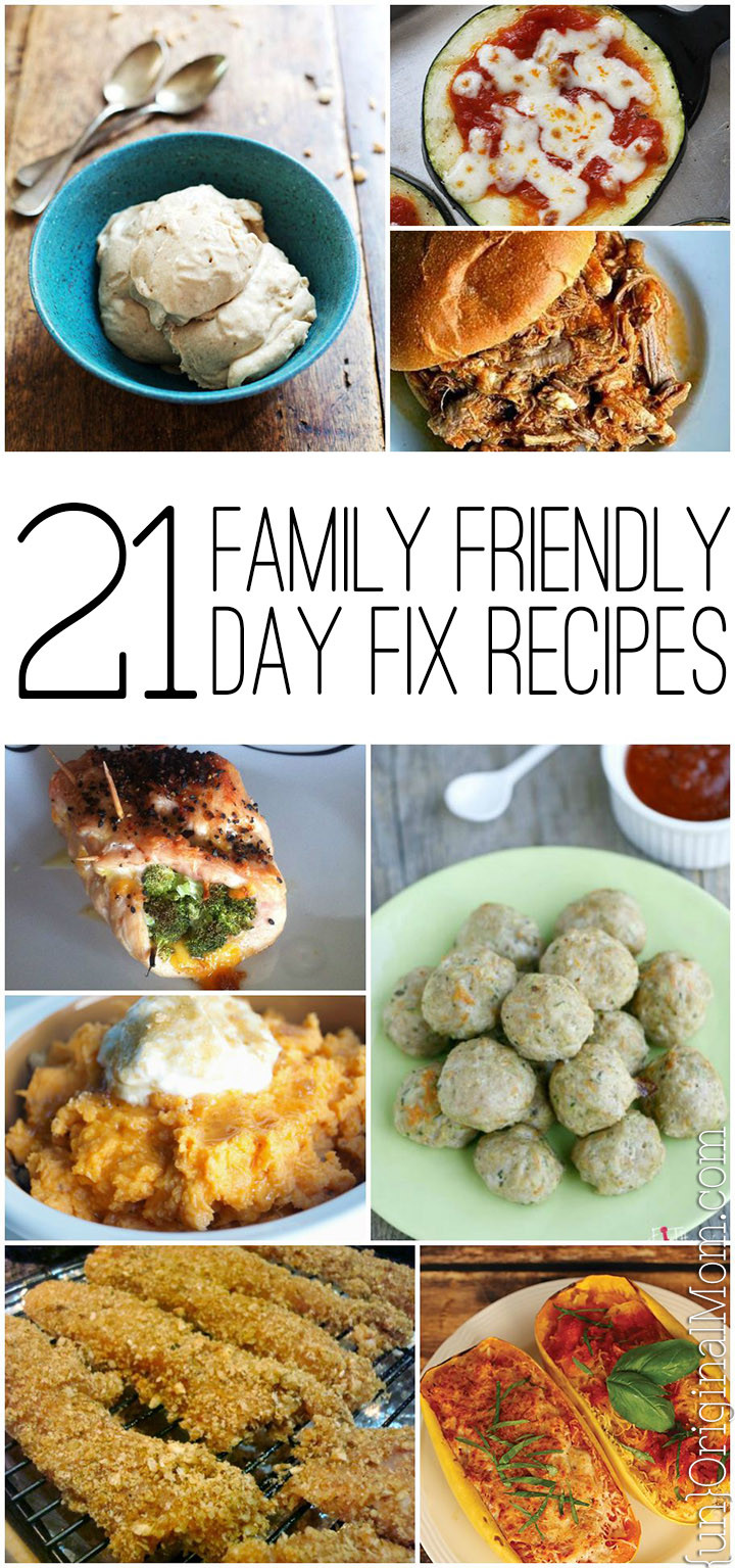 Mother'S Day Dinner Ideas  21 Day Fix Family Friendly Recipes unOriginal Mom