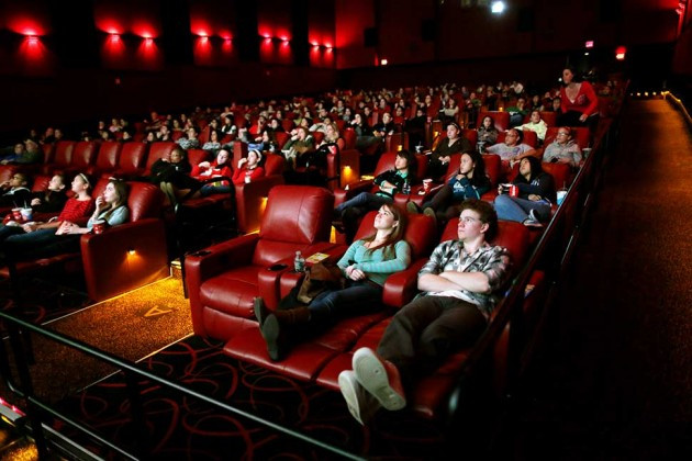 Movie Dinner Theaters  Reclining Seats Dine in Menus Boost Movie Ticket Sales