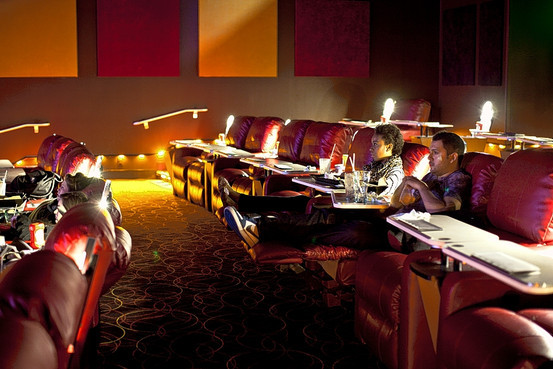 Movie Dinner Theaters  Theater Chains Aim to Transform Going Out to the Movies WSJ