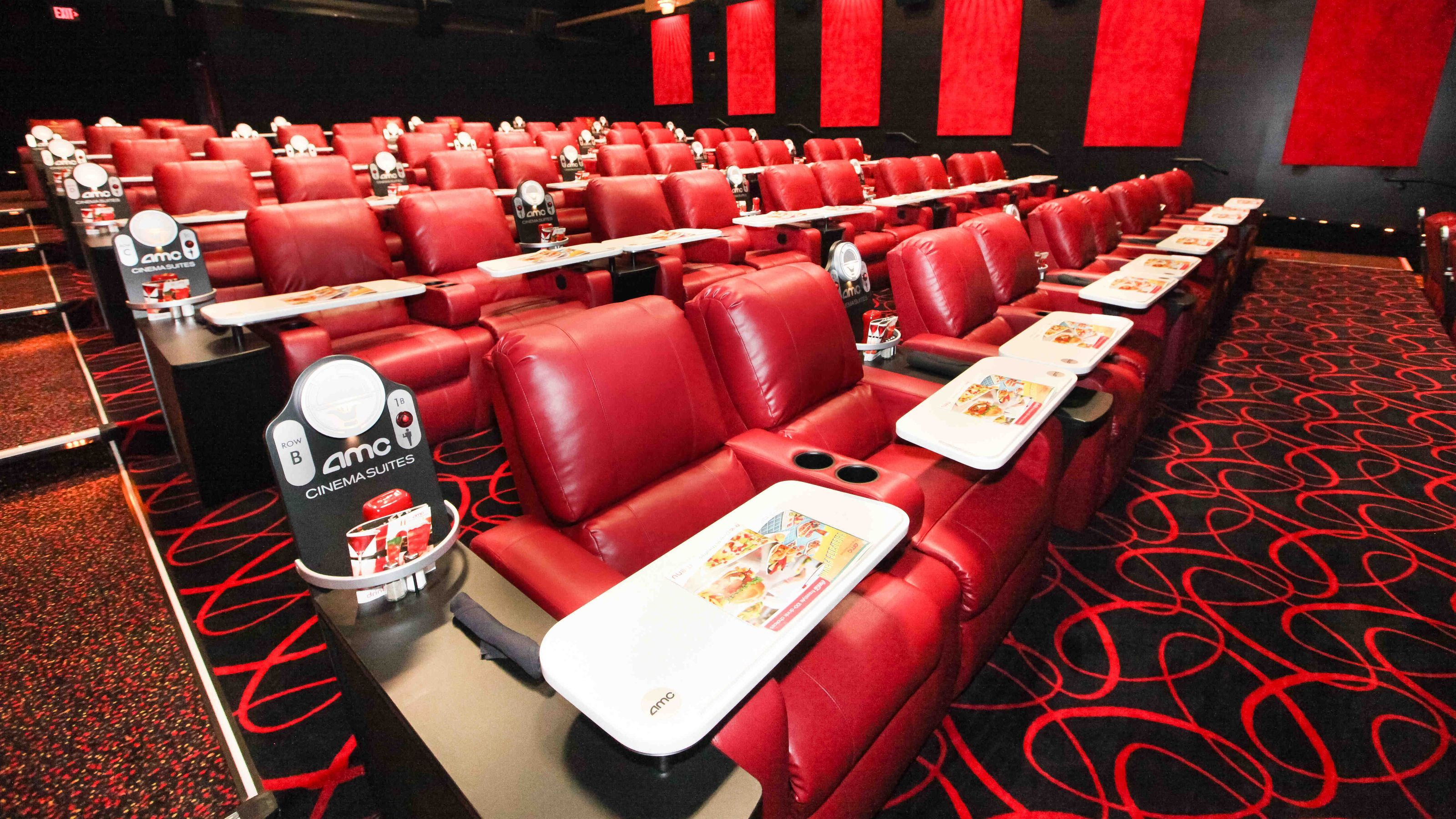 Movie Dinner Theaters  Dinner and a movie at AMC Painter s Crossing