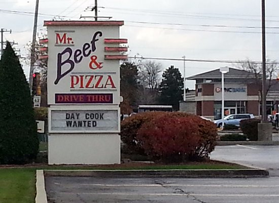 Mr Beef And Pizza  Mr Beef and Pizza Mount Prospect Menu Prices