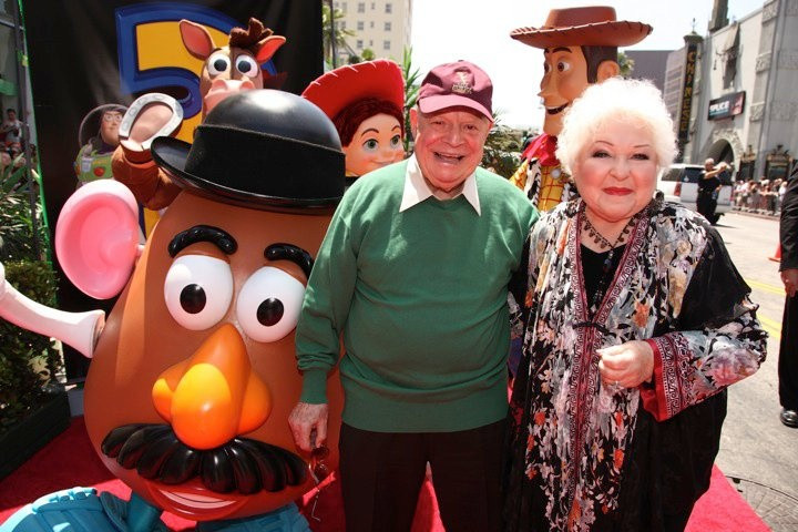 Mr Potato Head Voice  Don Rickles and Estelle Harris the voice of Mr and Mrs