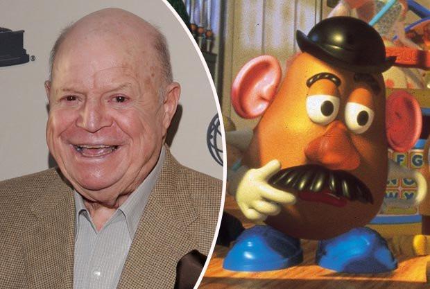 Mr Potato Head Voice  Don Rickles dead Toy Story legend s aged 90