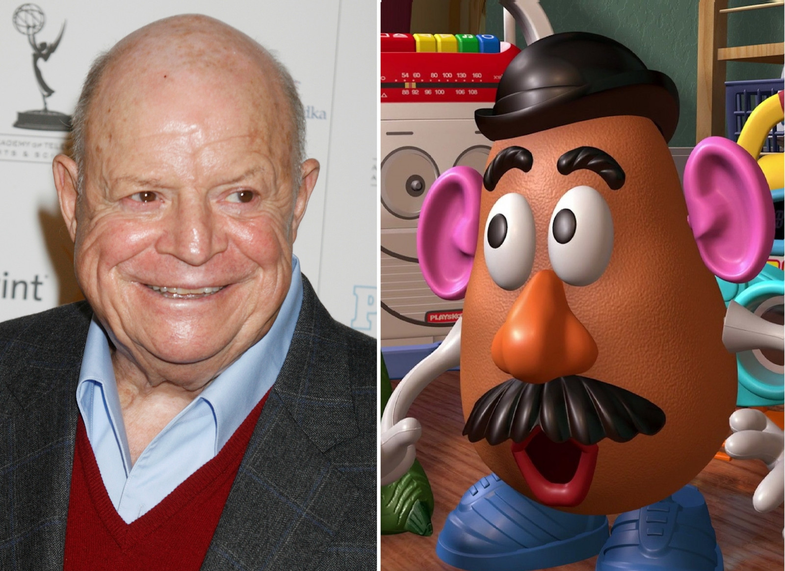 Mr Potato Head Voice  Don Rickles did not record his part for Toy Story 4 before