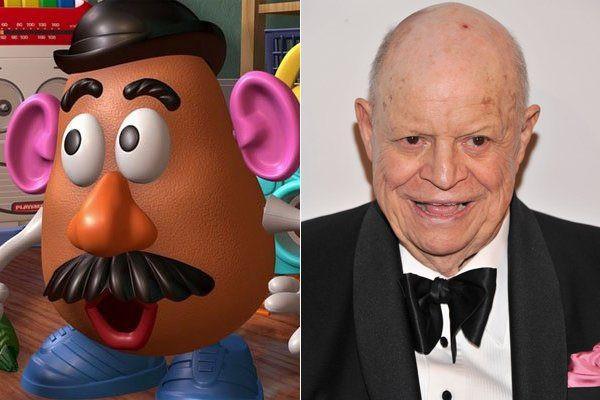 Mr Potato Head Voice  The Pixar Times — Pixar mentary All the time