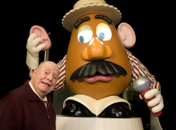 Mr Potato Head Voice  A Look Back at Celebrated Disneyland Resort Guests Don