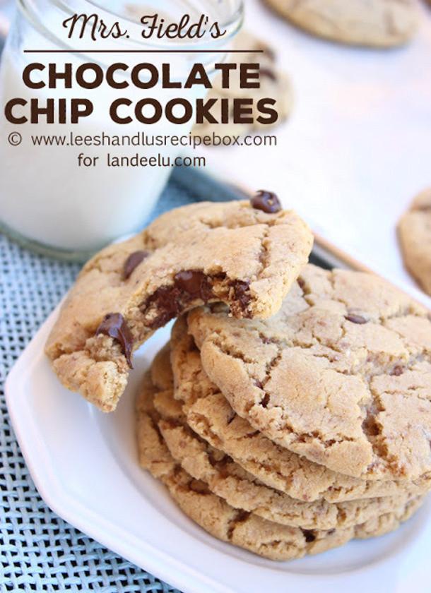 Mrs Fields Chocolate Chip Cookies  Chocolate Chip Cookies Recipes landeelu