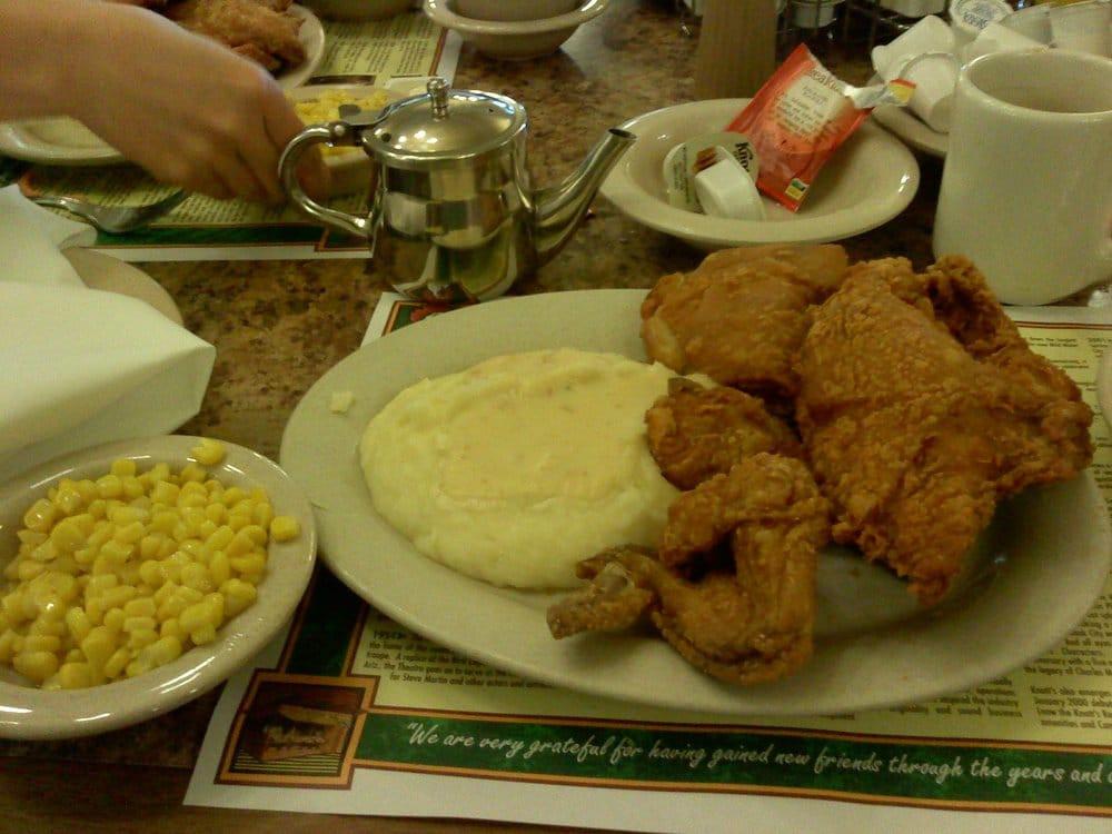 Mrs. Knott'S Chicken Dinner Restaurant  Mrs Knott s fried chicken dinner Yelp