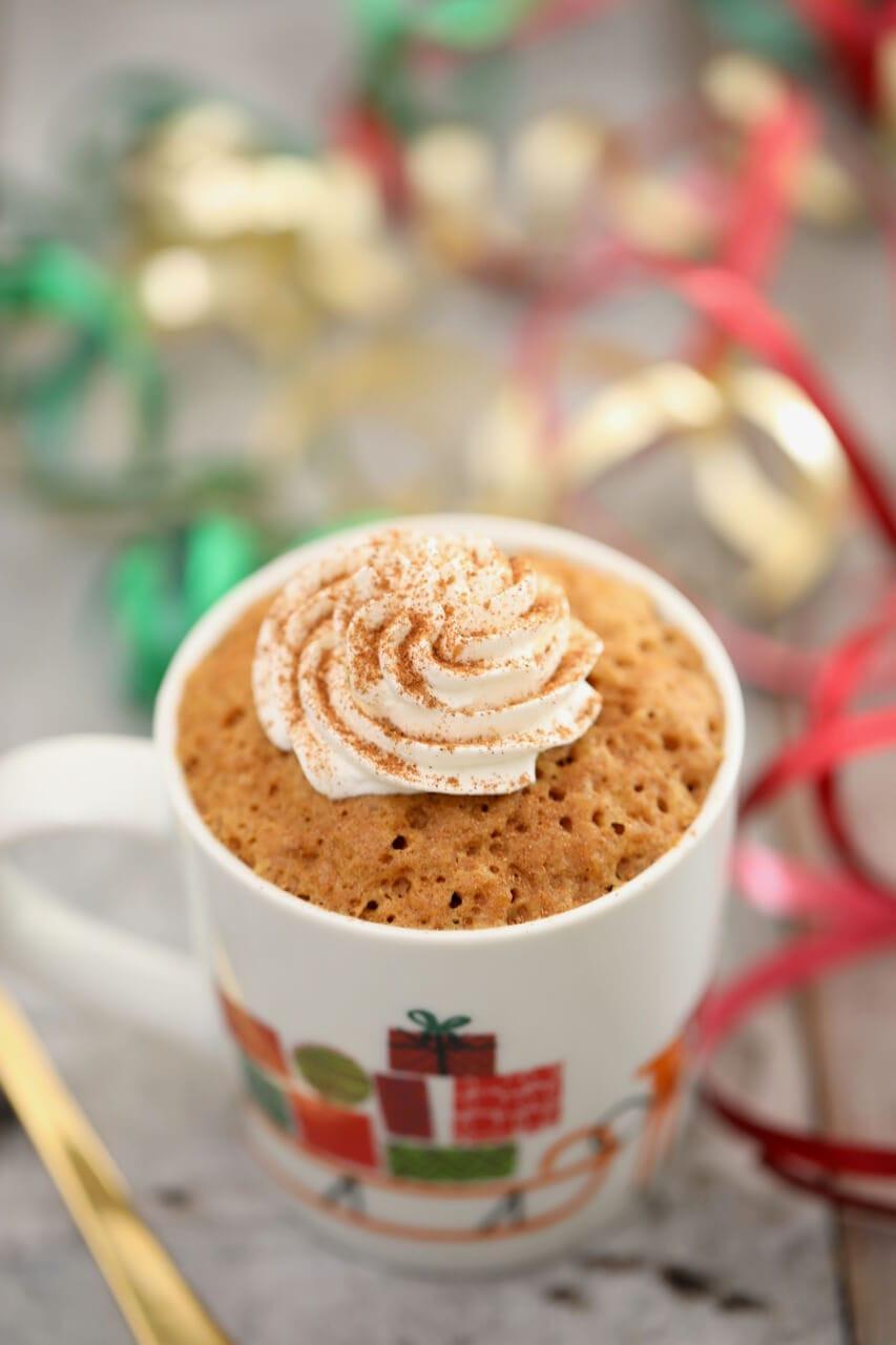 Mug Cake Recipe  Gingerbread Mug Cake Egg Free Gemma's Bigger Bolder Baking