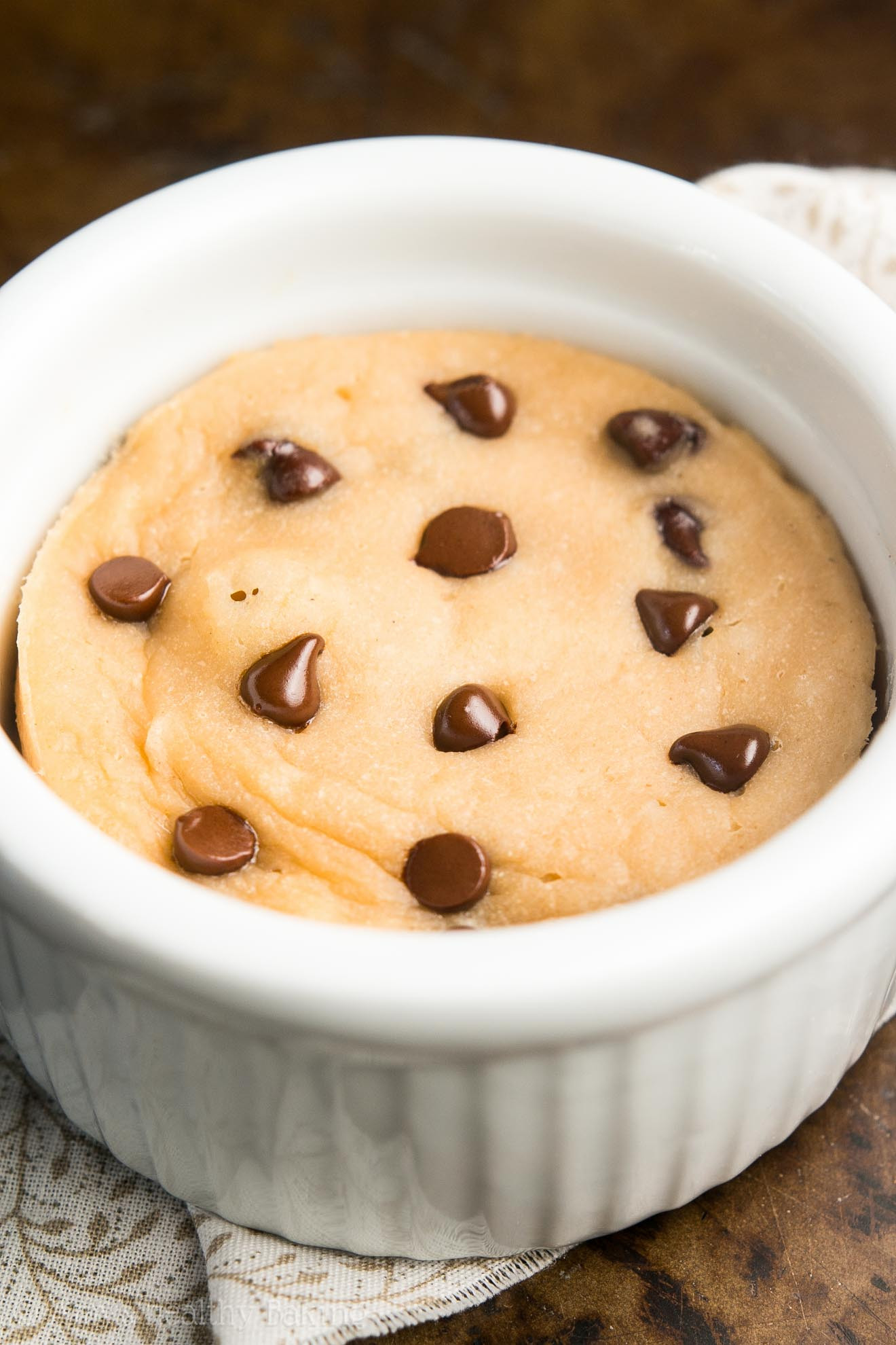 Mug Cake Recipe  Skinny Single Serving Chocolate Chip Mug Cake Recipe