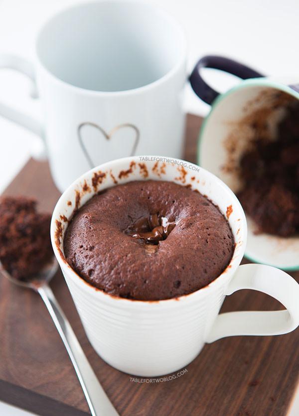 Mug Cake Recipe  The Moistest Chocolate Mug Cake Mug Cake For e or Two