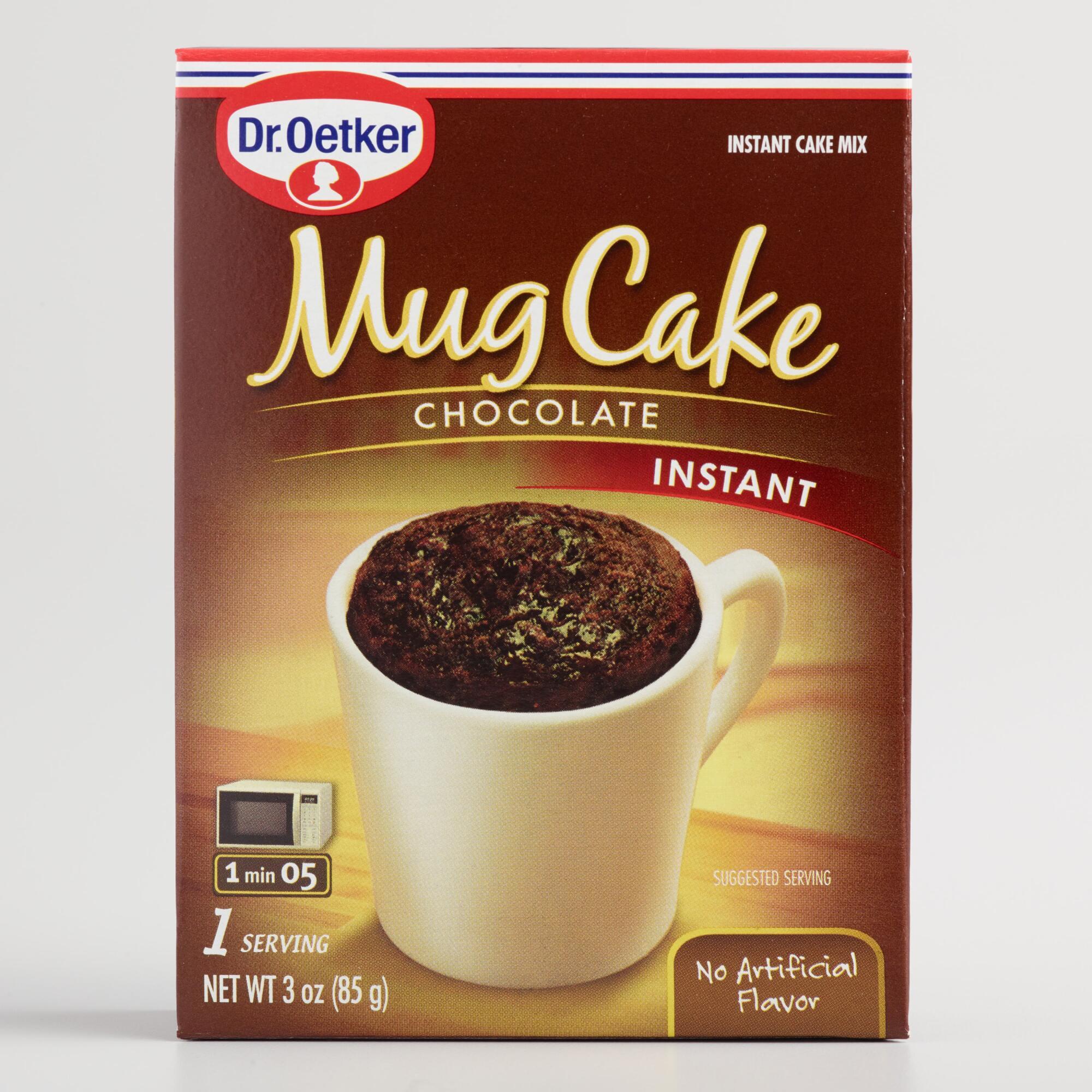 Mug Cake With Cake Mix  Dr Oetker Chocolate Mug Cake Mix Set of 6