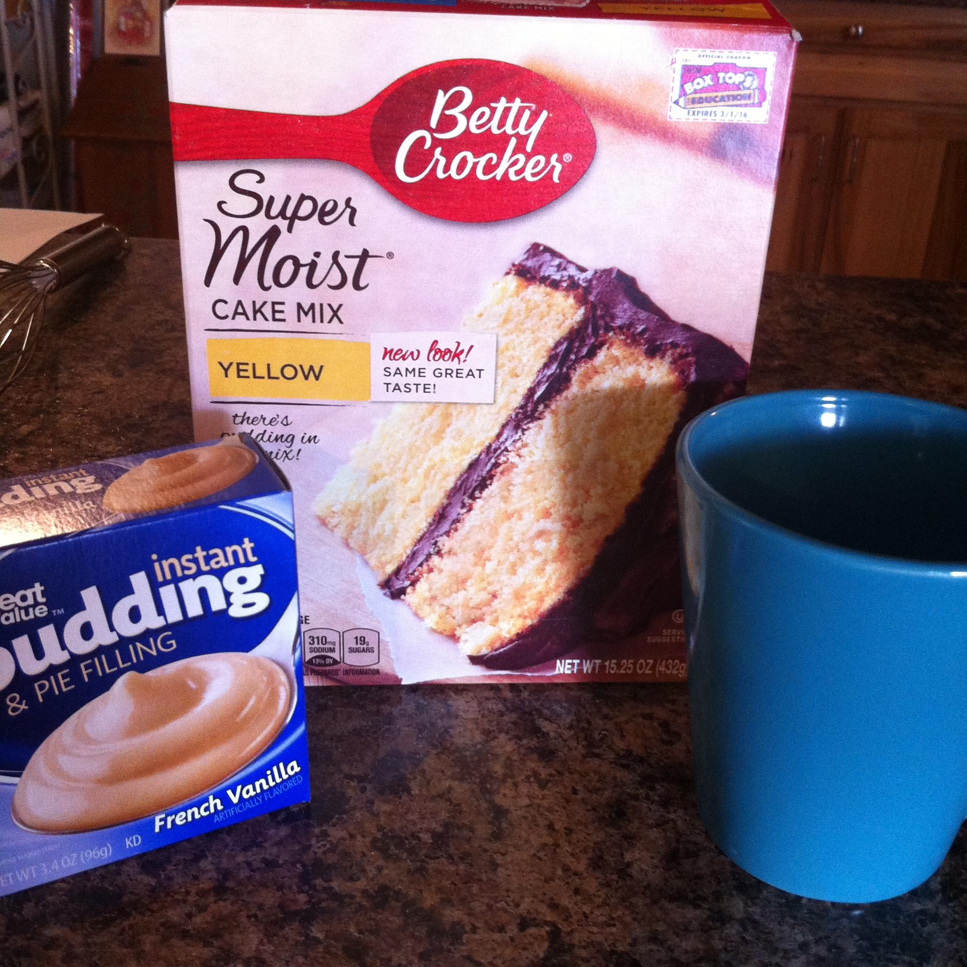 Mug Cake With Cake Mix  Mug Cakes
