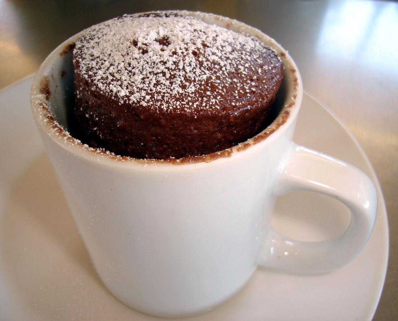 Mug Chocolate Cake  Attached At The Nip Mug Cakes
