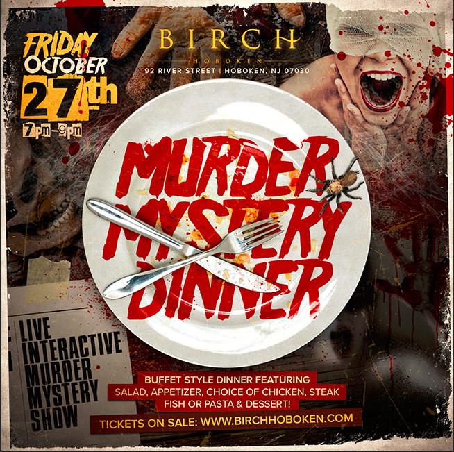 Murder Mystery Dinner Nj  The Ultimate 2017 Halloween Party Guide to Hoboken