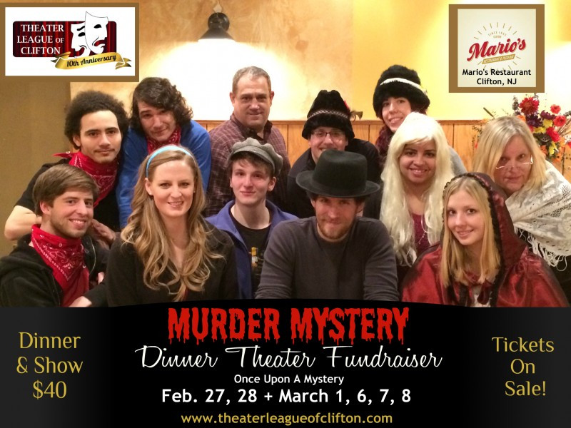Murder Mystery Dinner Nj  Murder Mystery Dinner Theater