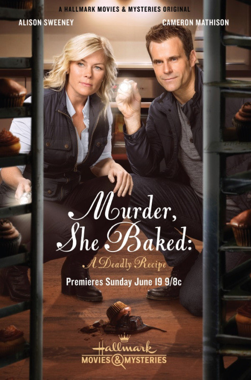 "Murder She Baked Just Desserts  Catch Actor Toby Levins in ""Murder She Baked Just"