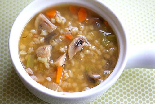 Mushroom Barley Soup Recipe  Mushroom Barley Soup Recipe