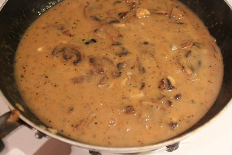 Mushroom Gravy Vegan  Cauliflower Steaks with Mushroom Gravy Vegan Glutenfree