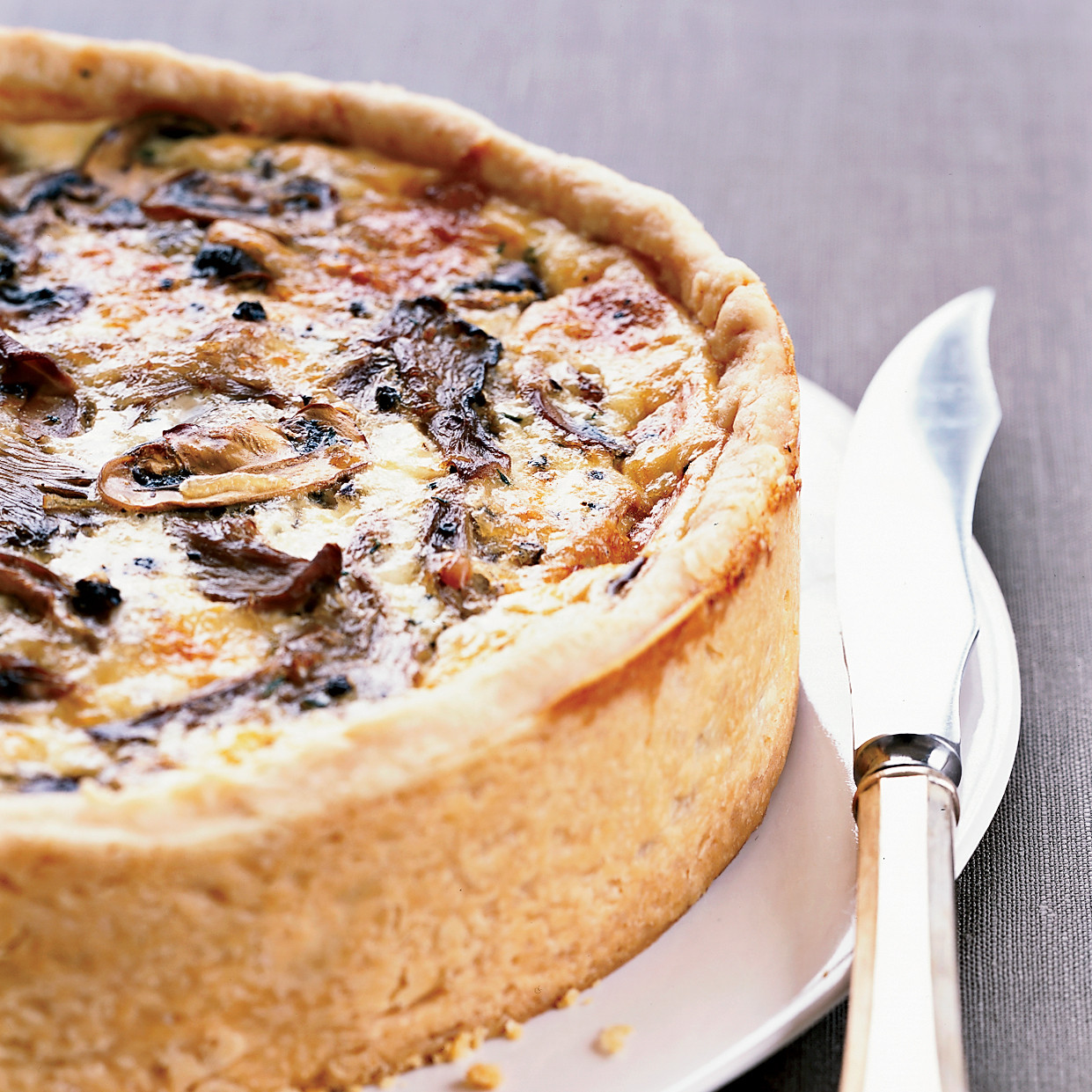 Mushroom Quiche Recipe  Over the Top Mushroom Quiche Recipe Thomas Keller