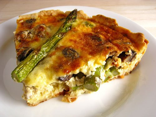 Mushroom Quiche Recipe  Asparagus and Mushroom Quiche Recipe on Closet Cooking