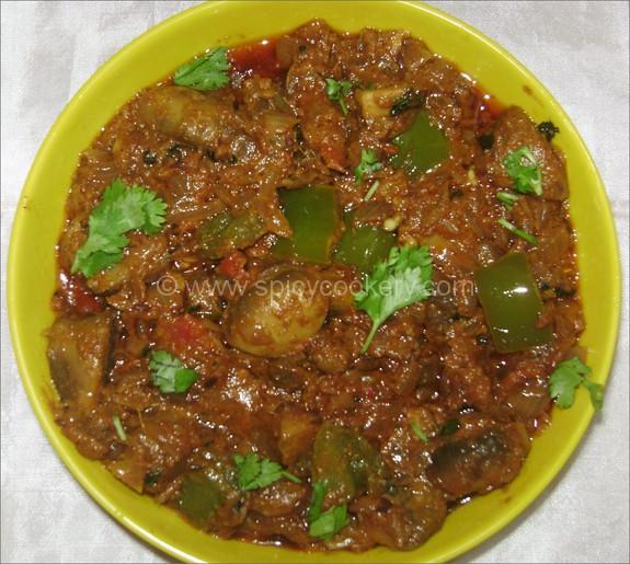Mushroom Recipes Indian  Kadai Mushroom – Spicycookery
