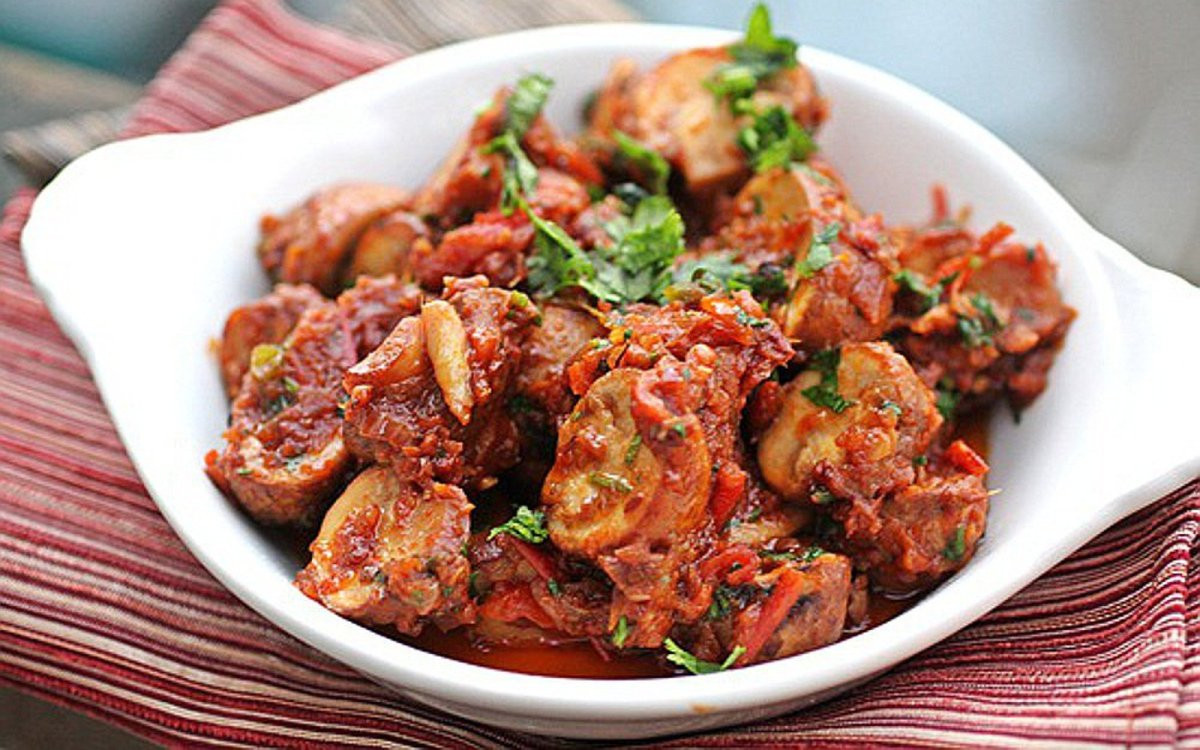 Mushroom Recipes Indian  Masala Mushroom Bhuna Indian Spicy Sauteed Mushrooms