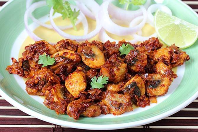 Mushroom Recipes Indian  Mushroom recipes