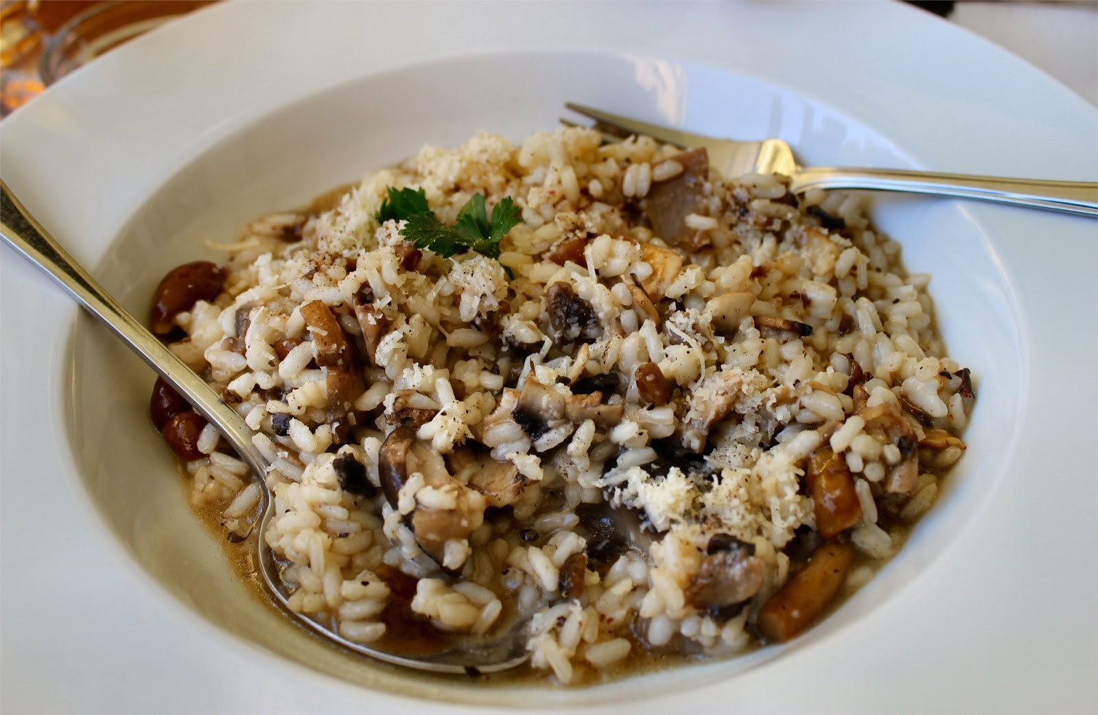 Mushroom Risotto Recipe  Mushroom Risotto Recipe by the Certifiable Foo