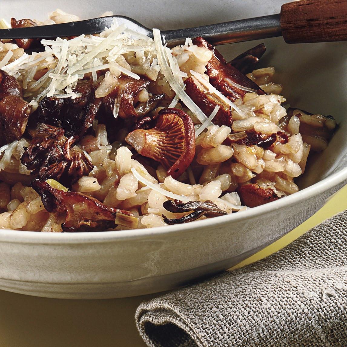 Mushroom Risotto Recipe  Wild Mushroom Risotto recipe