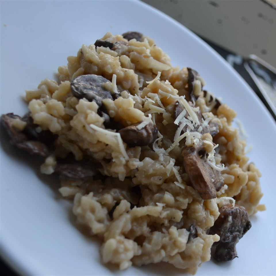 Mushroom Risotto Recipe  Mushroom risotto recipe All recipes UK
