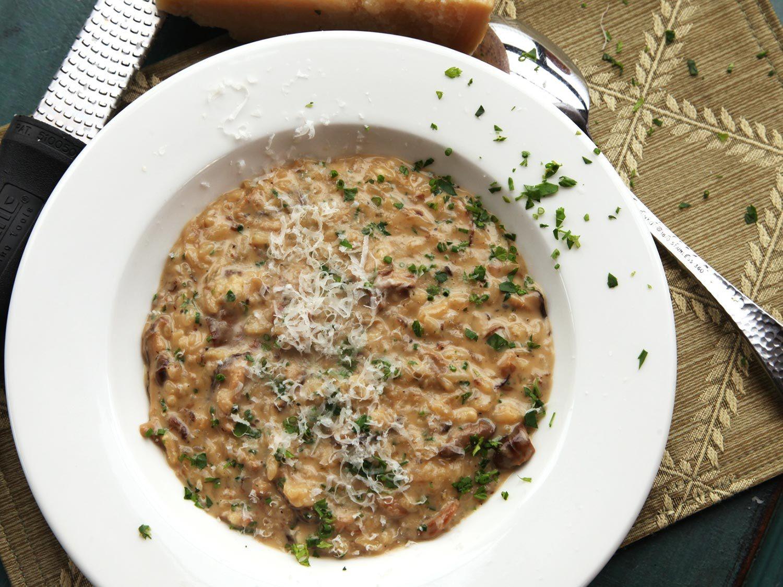 Mushroom Risotto Recipes  Pressure Cooker Mushroom Risotto Recipe