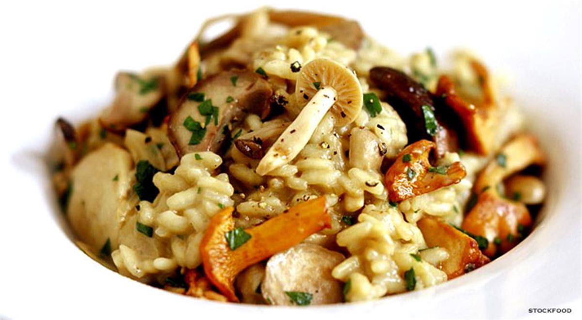 Mushroom Risotto Recipes  Creamy Mushroom Risotto an Easy Recipe for Mushroom Risotto